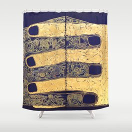 THE NATURE OF RELATIONSHIP. DIPTYCH Shower Curtain