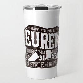 Eureka Bear — CA flag Travel Mug