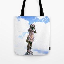 Papua New Guinea Man Tote Bag
