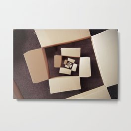 Boxxx Metal Print