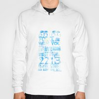 fandom Hoodies featuring Fandom Motto by Tracey Gurney