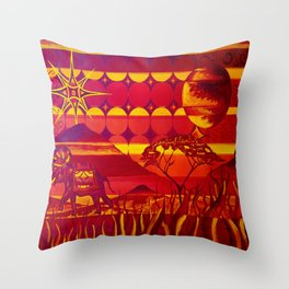 Safari Throw Pillow