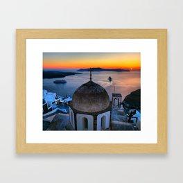Santorini 21 Framed Art Print