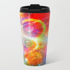 Altered Orbs in Space Metal Travel Mug