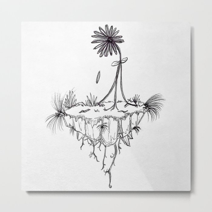 Inspiring - Breaking Free from the roots Metal Print