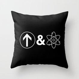Up&Atom Throw Pillow