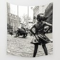 Fearless Girl & Bull - NYC by shootfirstnyc