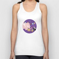 band Tank Tops featuring Music Band by Roberta Jean Pharelli