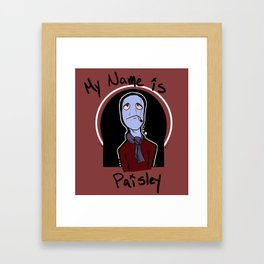 Pasiley Framed Art Print