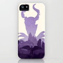 Maleficent (II) iPhone Case