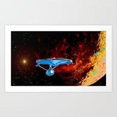 Enterprise NCC 1701A Art Print