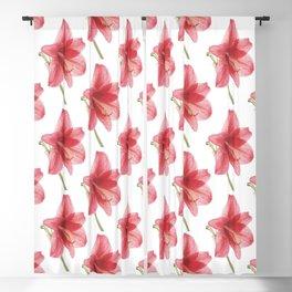 Amaryllis pattern Blackout Curtain