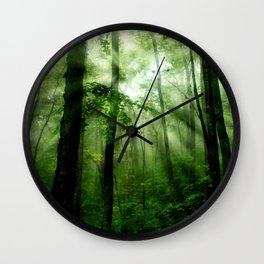 Joyful Forest Wall Clock