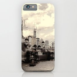 HMS Belfast iPhone Case