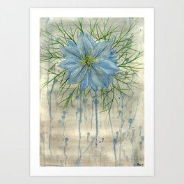 Love in a Grey Mist Art Print