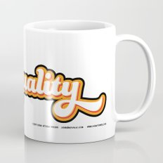 Geek + Equality = GEEKUALITY Mug