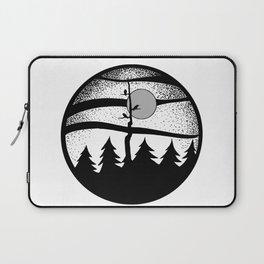 Raven Tree Monochrome Laptop Sleeve