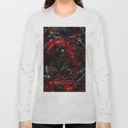 Modern  Abstract Art Design Long Sleeve T-shirt