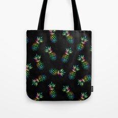 Iridescent pineapples Tote Bag