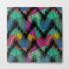 Bright ethnic pattern. Metal Print