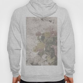 Floral Vintage Postcard bouquet of flowers Hoody