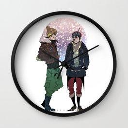 Winter Free! Wall Clock