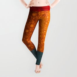 Abstract #202 Leggings