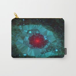 Triangulated Helix Nebula Low Poly Geometric Art Carry-All Pouch