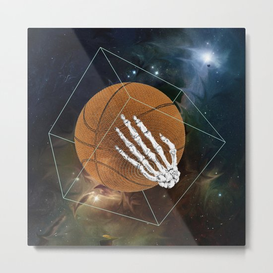 Basketball to the bone Metal Print