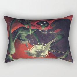 The Dreamteller of Nightmares Rectangular Pillow