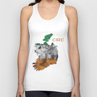 ruben ireland Tank Tops featuring Eire / Ireland by Dandy Octopus