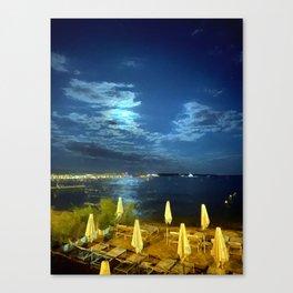 Silent Night in Monaco Canvas Print