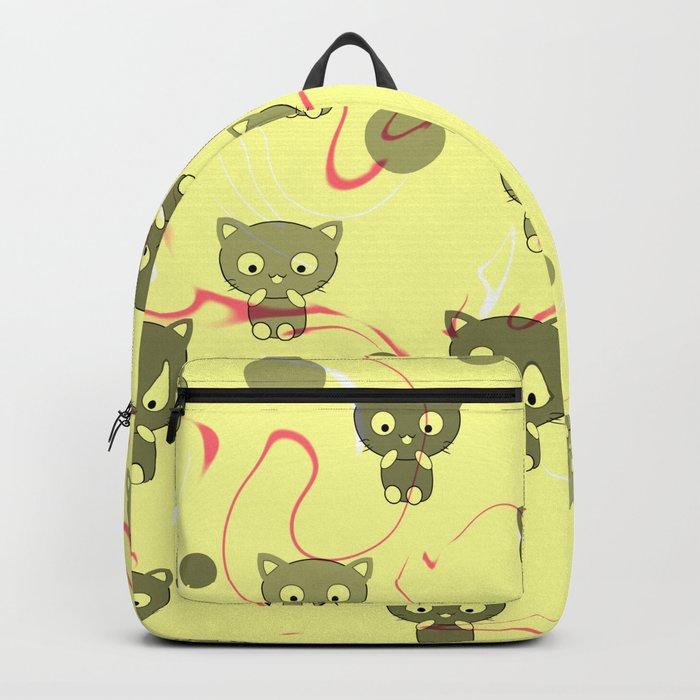 Cute happy kittens Backpack