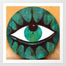 occhio yap 01 Art Print
