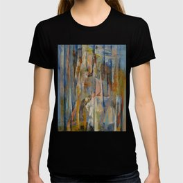 Wild Horses Abstract T-shirt