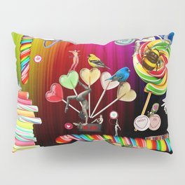 Sweet Rainbow Hug Pillow Sham