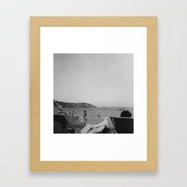 Vintage Seaside Framed Art Print