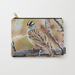 Mr. White Crowned Sparrow Carry-All Pouch