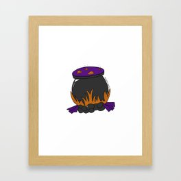 Witch's Stew Framed Art Print