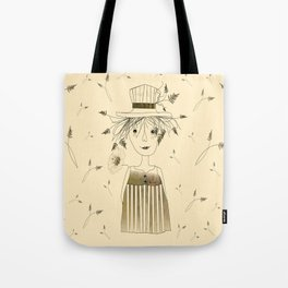 Betty Lou In Wheat Tote Bag
