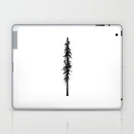 Alone in the forest - a solitary, towering Douglas Fir tree Laptop & iPad Skin