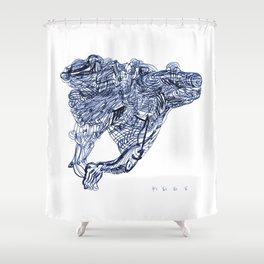 8 10 12 14 Shower Curtain