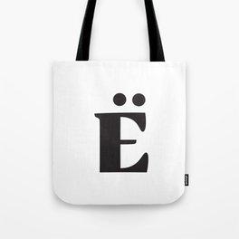 Cute Ë Monster Tote Bag