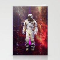 interstellar Stationery Cards featuring Interstellar by Tony Vazquez