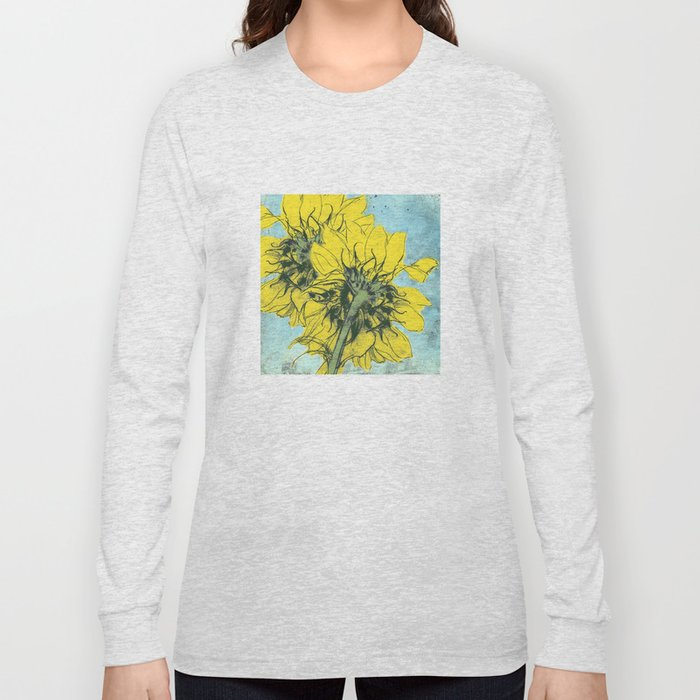 The sunflowers moment Long Sleeve T-shirt