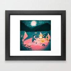 Wilderness Wanderlust Framed Art Print