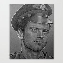 Sergeant Barnes Canvas Print
