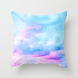 Clouds Series 2 Throw Pillow