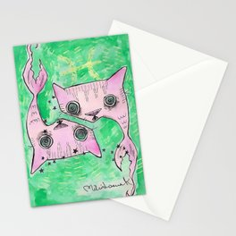"""""""Oro?"""" Pisces Stationery Cards"""