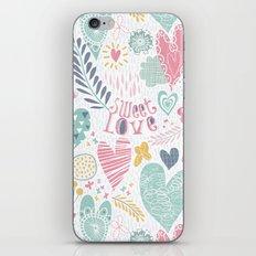 Sweet Love iPhone & iPod Skin